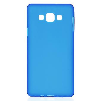 Mate in TPU rubber cover for Samsung Galaxy A7 (blue)