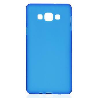 Stuurman in TPU rubber cover voor de Samsung Galaxy A7 (blauw)