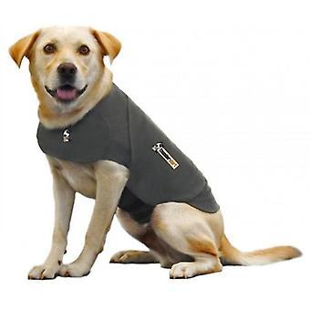 Onweersbui grijs X-grote hond