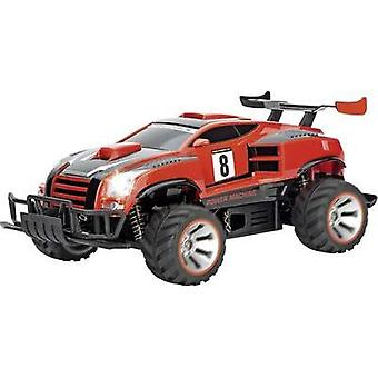 Carrera RC 370183005 Power Machine 1:18 RC model car for beginners Electric Monster truck 4WD