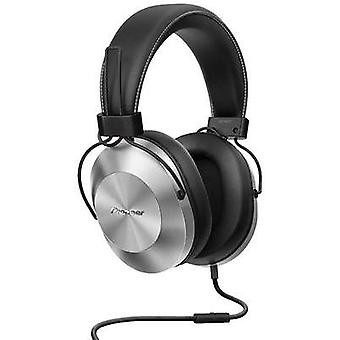 Hi-Fi Headphone Pioneer SE-MS5T-S Over-the-ear Volume control, Headset Silver