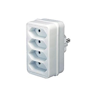 Brennenstuhl power strip 4Xeuro hvid