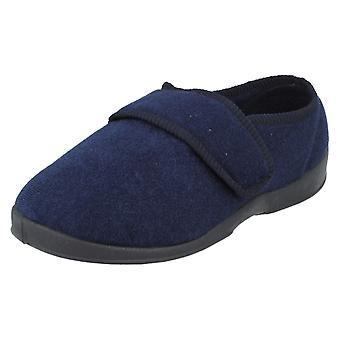 Mens Natureform Riptape Strap Slippers George