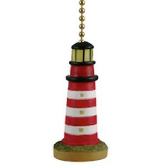 Eastern Shore Assateague Island Lighthouse Fan Light Pull