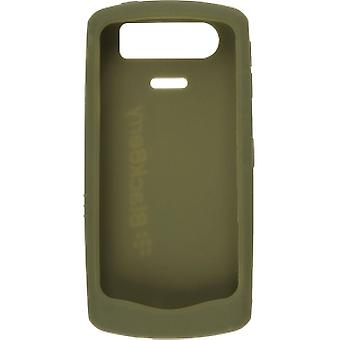 BlackBerry Rubber Skin Case for BlackBerry Pearl 8110, 8120, 8130 (Olive Green)