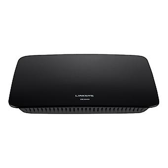 Linksys SE2800-Switch-unmanaged-8 x 10/100/1000-desktop