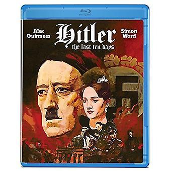 Hitler: De sidste ti dage [Blu-ray] USA importerer