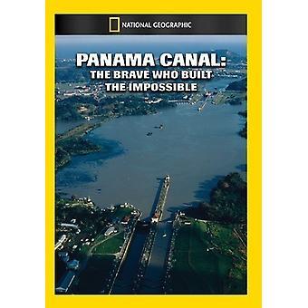 Panama Canal: Den tapre der bygget umuligt [DVD] USA importerer