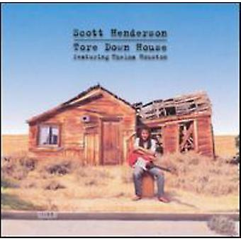 Scott Henderson - rev ned hus [CD] USA import
