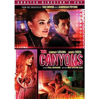 Canyons Directors Cut [DVD] USA import