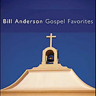 Bill Anderson - Gospel Favorites [CD] USA import