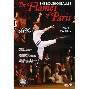 Flammer af Paris [DVD] USA importerer