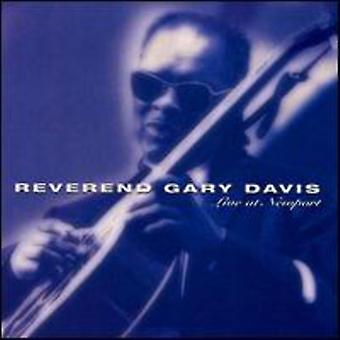 Rev. Gary Davis - Live at Newport [CD] USA import