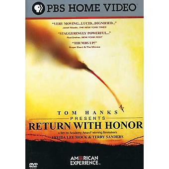 Return with Honor [DVD] USA import