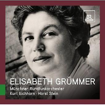 W.a. Mozart - stor sangere Live: Elisabeth Gr Mmer [CD] USA import