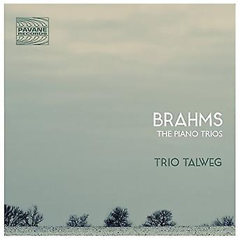 Brahms / Talweg - Pno trioer [CD] USA import