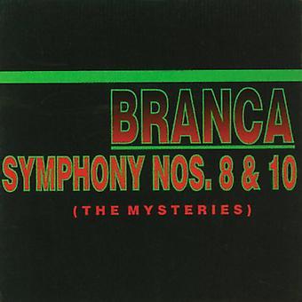 Glenn Branca - Glenn Branca: Symfoni nr 8 & 10 mysterier [CD] USA importerer