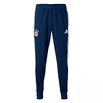 2017-2018 Bayern Munich Adidas Sweat Pants (Navy) - Kids
