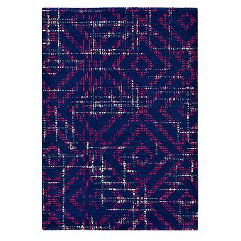 Modern Purple Abstract Designer Rug - Ted Baker 58505