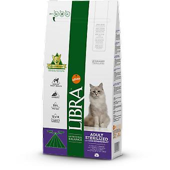 Libra Cat Sterilized Chicken and Barley (Cats , Cat Food , Dry Food)