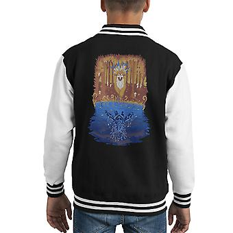 Varsity Jacket de Autumn Forest esprit Princesse Mononoke Kid