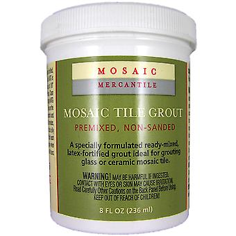 Mosaic Tile Grout 8 Ounces White Grt 00041