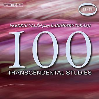 Sorabji, Kaikhosru / Ullen, Fredrik - 100 transzendentalen Studien Nr. 72-83 [CD] USA import