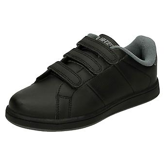 Boys Hitec Casual Trainers Strada EZ Jr
