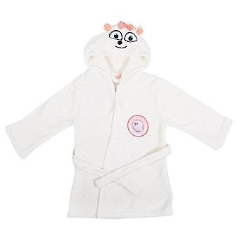 Universal The Secret Life Of Pets Children's Hooded White Fleece Dressing Gown
