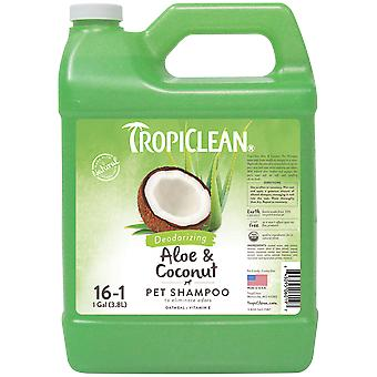 TropiClean Champú Aloe y Coco 3,78 L (Dogs , Grooming & Wellbeing , Shampoos)