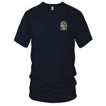 US Coastguard PSU308 Port Coastal Security - Military Insignia Vietnam War Embroidered Patch - Mens T Shirt