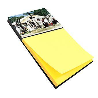 Garcia's Grocery Refiillable Sticky Note Holder or Postit Note Dispenser
