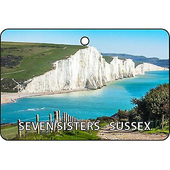 Seven Sisters - Sussex Car Air Freshener
