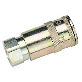 Draper A91Cf02 Packed Packed 1/4 Bsp Taper Female Thread Vertex Air Coupling