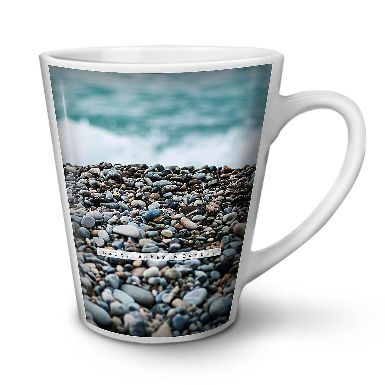 OzWellcoda Nature Céramique L'eau Tasse 12 En Blanche Mer Café Rock Nouvelle Latte 5L34ARcjq