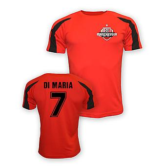Angel Di Maria Man Utd Sports Training Jersey (red) - Kids