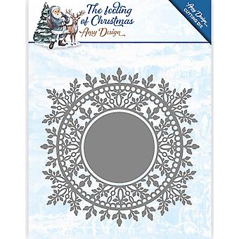 Find It Trading Amy Design The Feeling Of Christmas Die-Ice Crystal Circle ADD10110