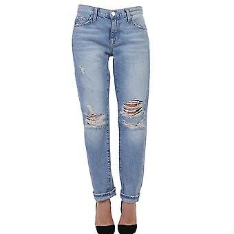 Current Elliott women's 15570967 light blue cotton of jeans