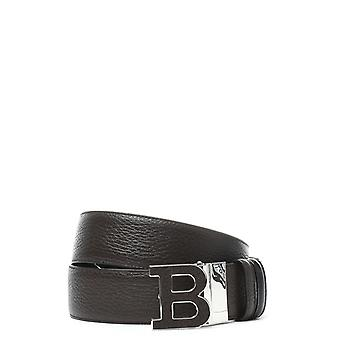 Bally Herren BUCKLE40MT6208373MARRONE Braun Leder Gürtel