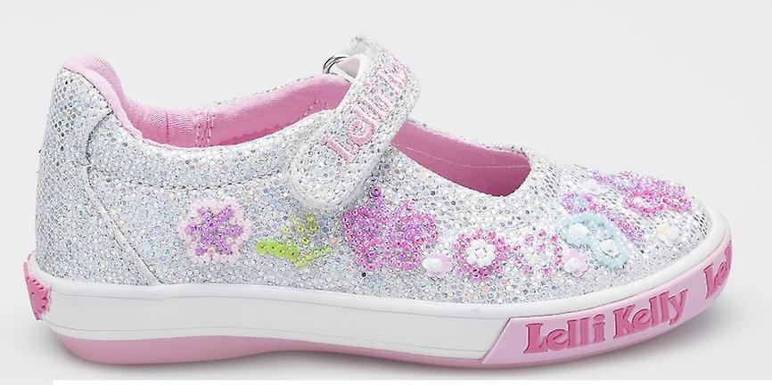 Lelli Kelly Glitter papillon LK5076 argent chaussures