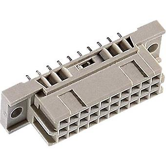Edge connector (receptacle) 104-80035 Total number of pins 20 No. of row