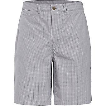 Trespass Mens Quantum Woven Cotton Longer Length Casual Shorts