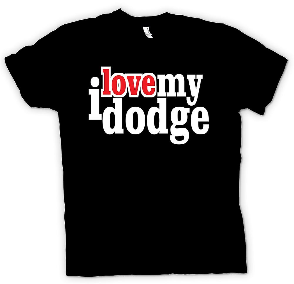 Kids T-shirt - I love my Dodge - Car Enthusiast