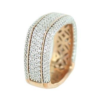 ESPRIT collection ladies ring silver Rosé Algea GR 19 ELRG92385B190