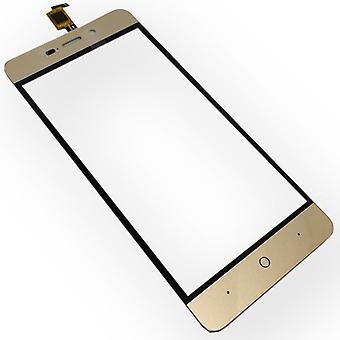 Display touch screen digitizer gold for ZTE blade A452