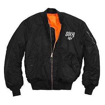 HIPHOP73 B-Boy Life Bomber Jacket Black