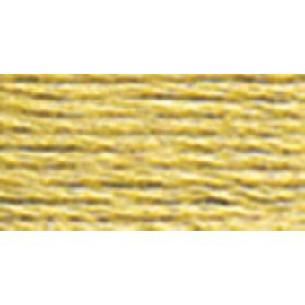 DMC Pearl Cotton Skein Size 5 27.3yd-Medium Yellow Beige