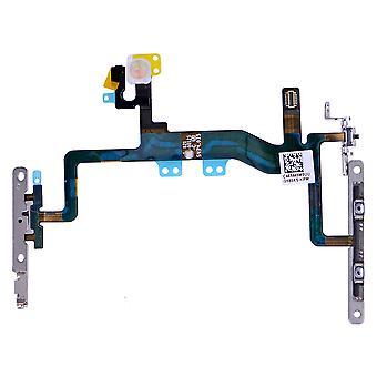 iPhone 6S Power knop Flex kabel met metalen beugel vergadering