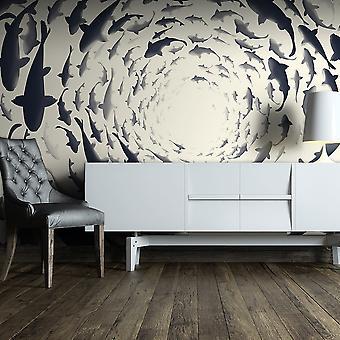 Wallpaper - Fish swirl