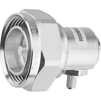 7-16 DIN connector Plug, right angle 50 Ω Telegärtner J01120C001